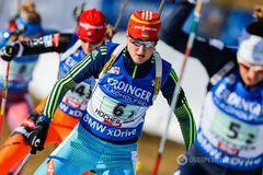 Українки провели чудову гонку переслідування на Кубку світу з біатлону