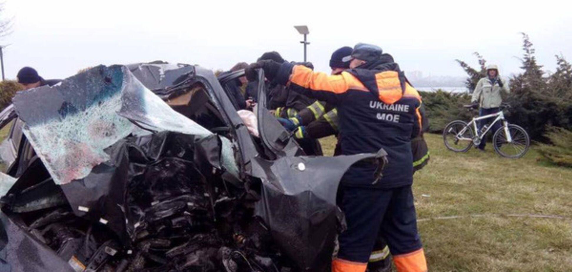 В Днепре произошло жуткое ДТП: три жертвы и один пострадавший