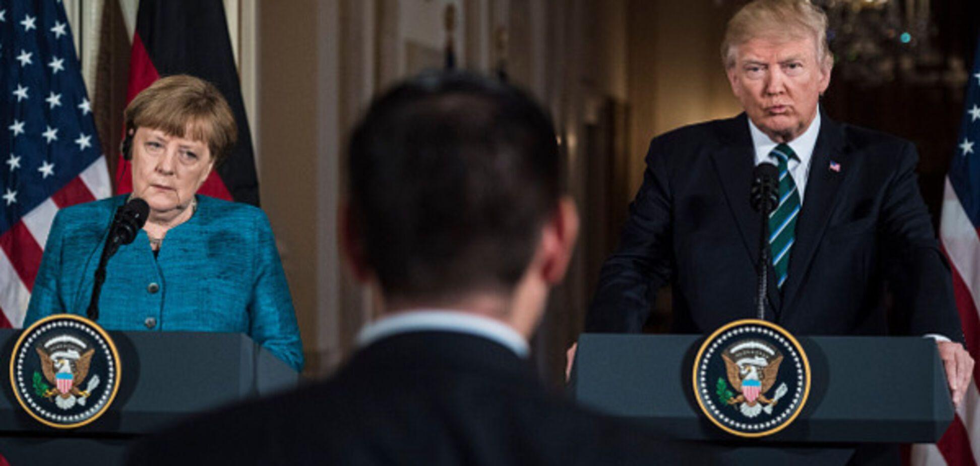 Ангела Меркель і Дональд Трамп
