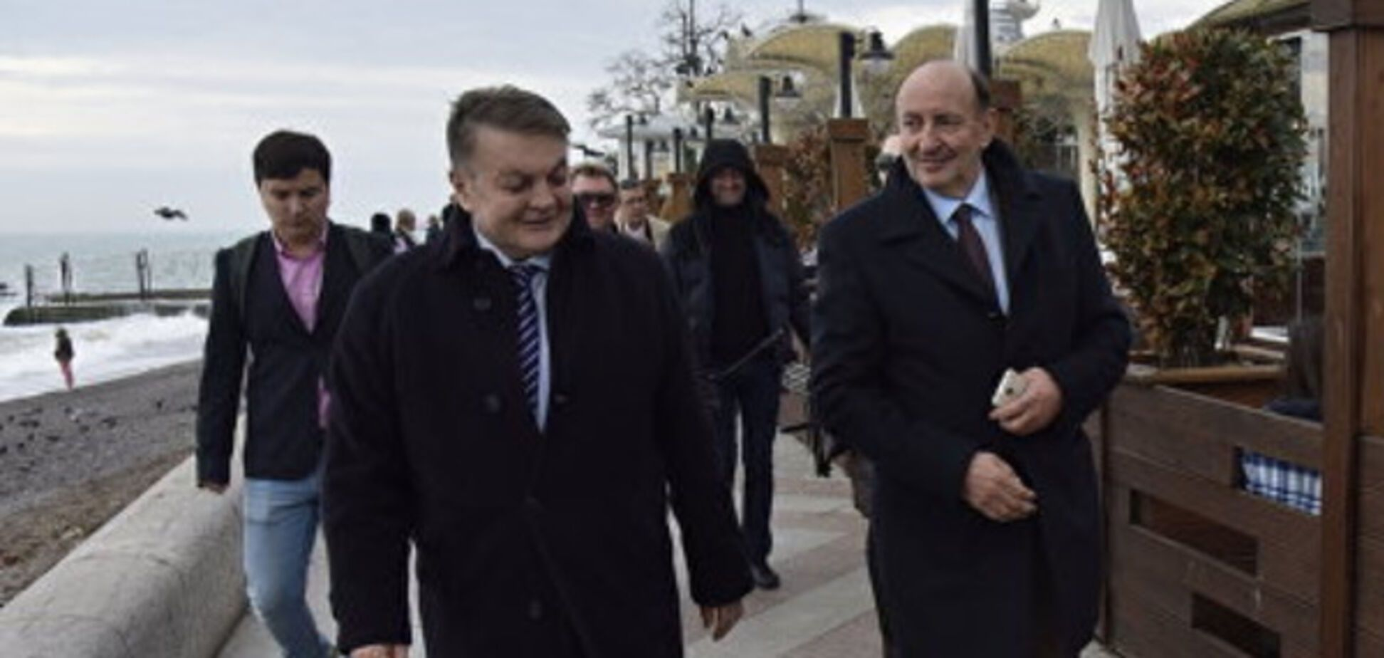 Визит европейских политиков в Крым