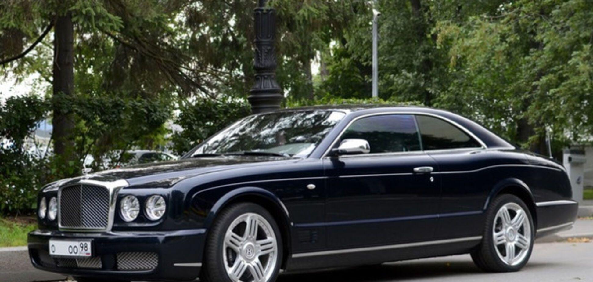Bentley Brooklands Виктора Януковича