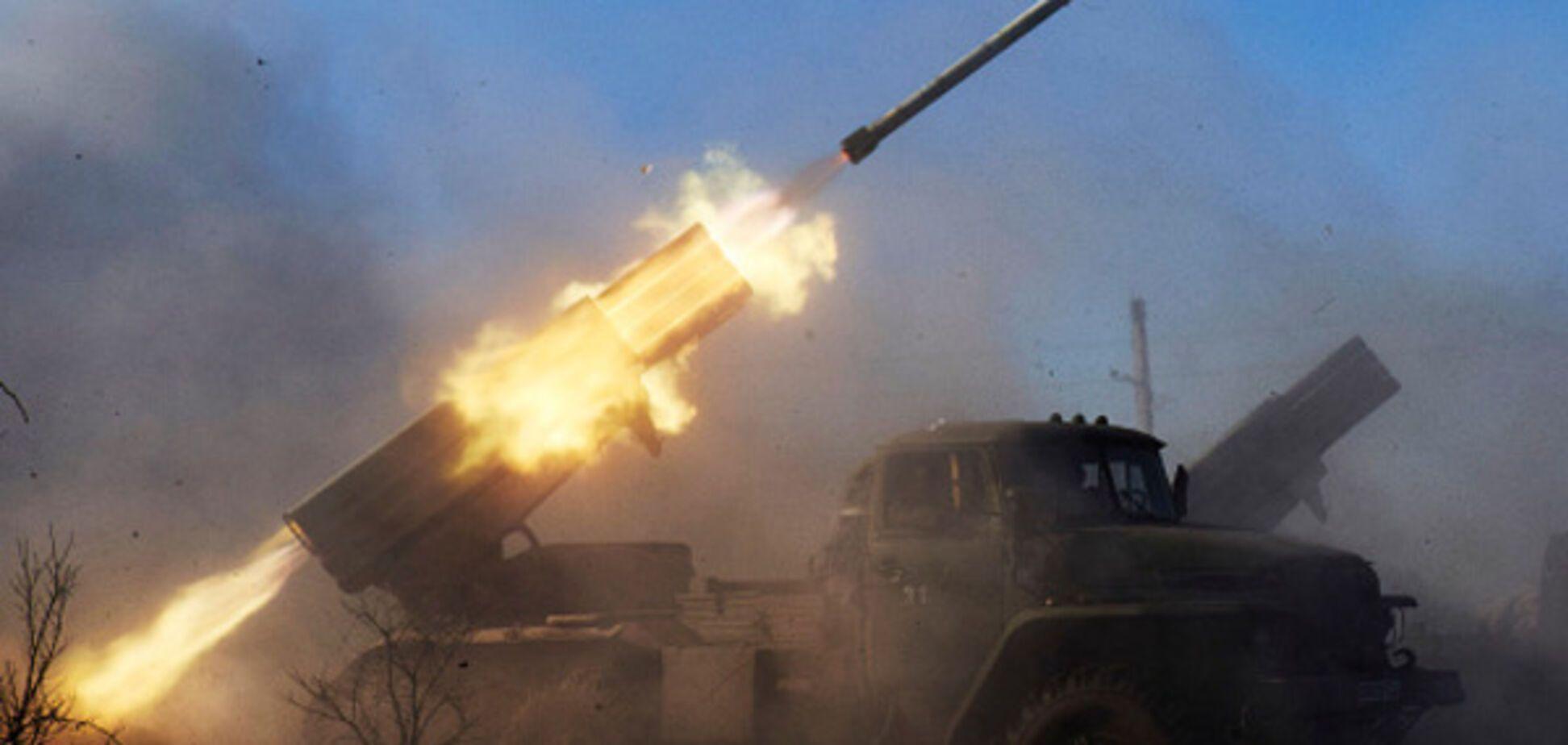донбасс война артиллерия