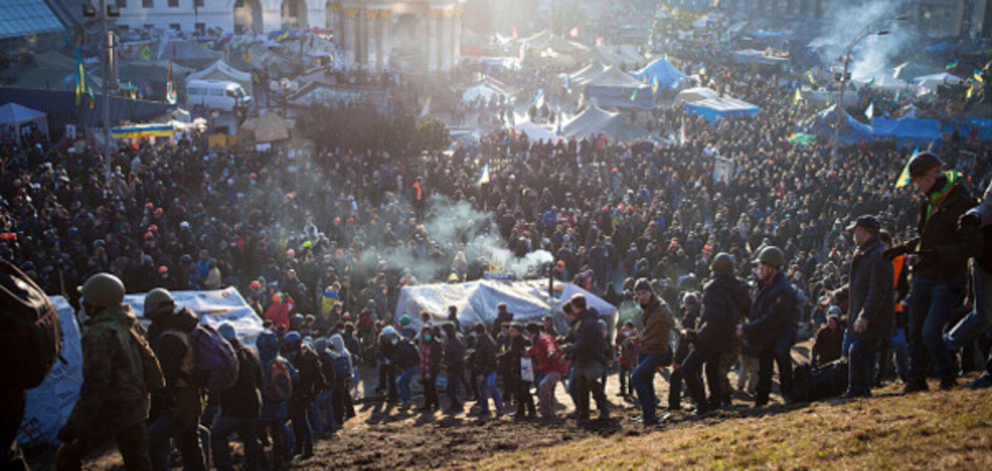 Евромайдан 18 февраля