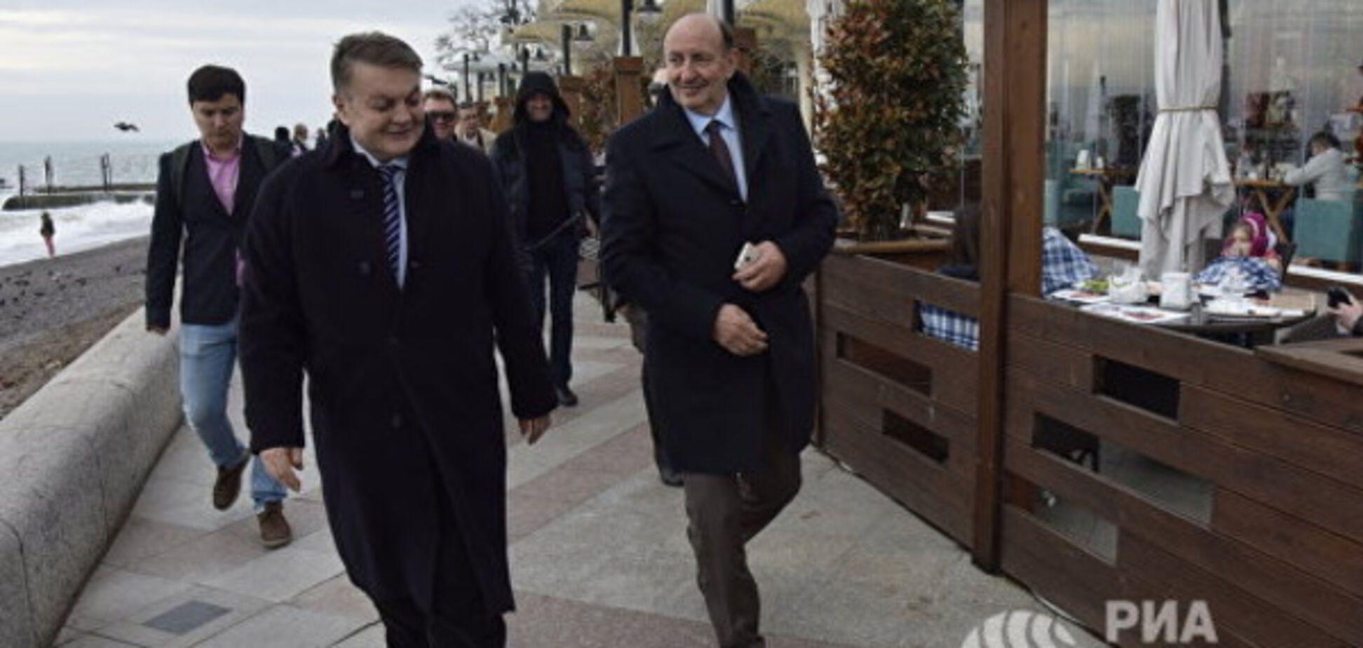Европейские политики в Крыму