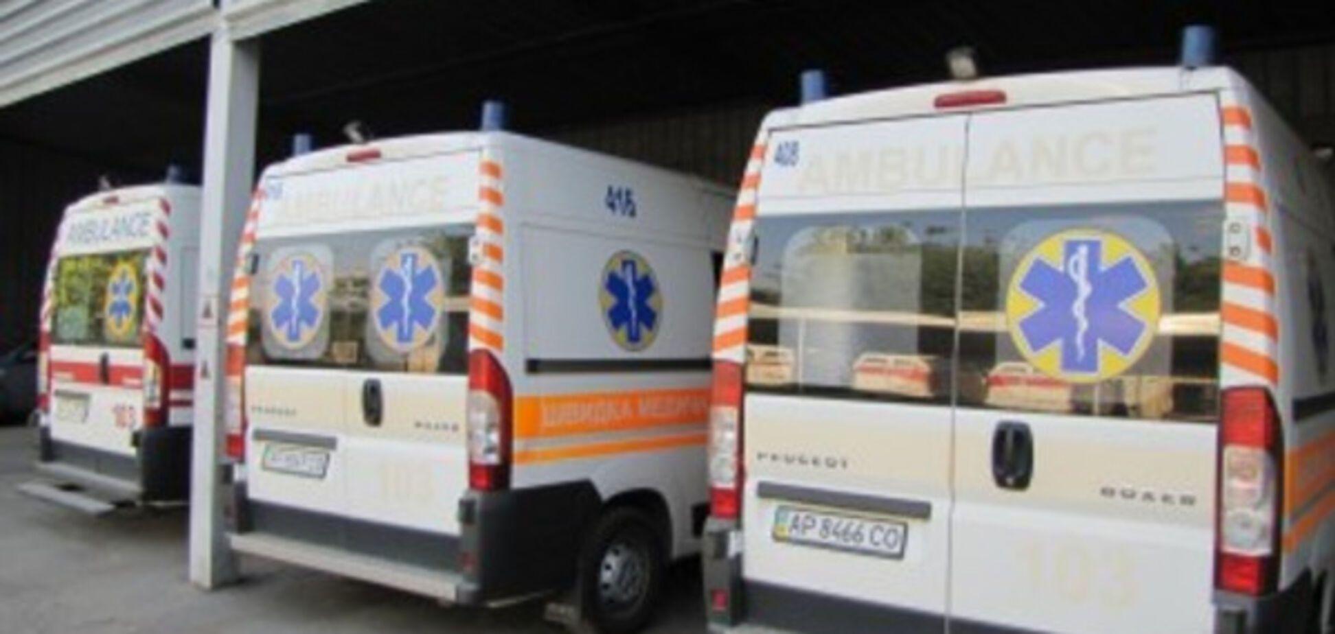 В Запорожской области человек умер в собственной машине