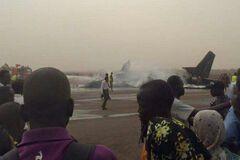 Крушение самолета в Южном Судане