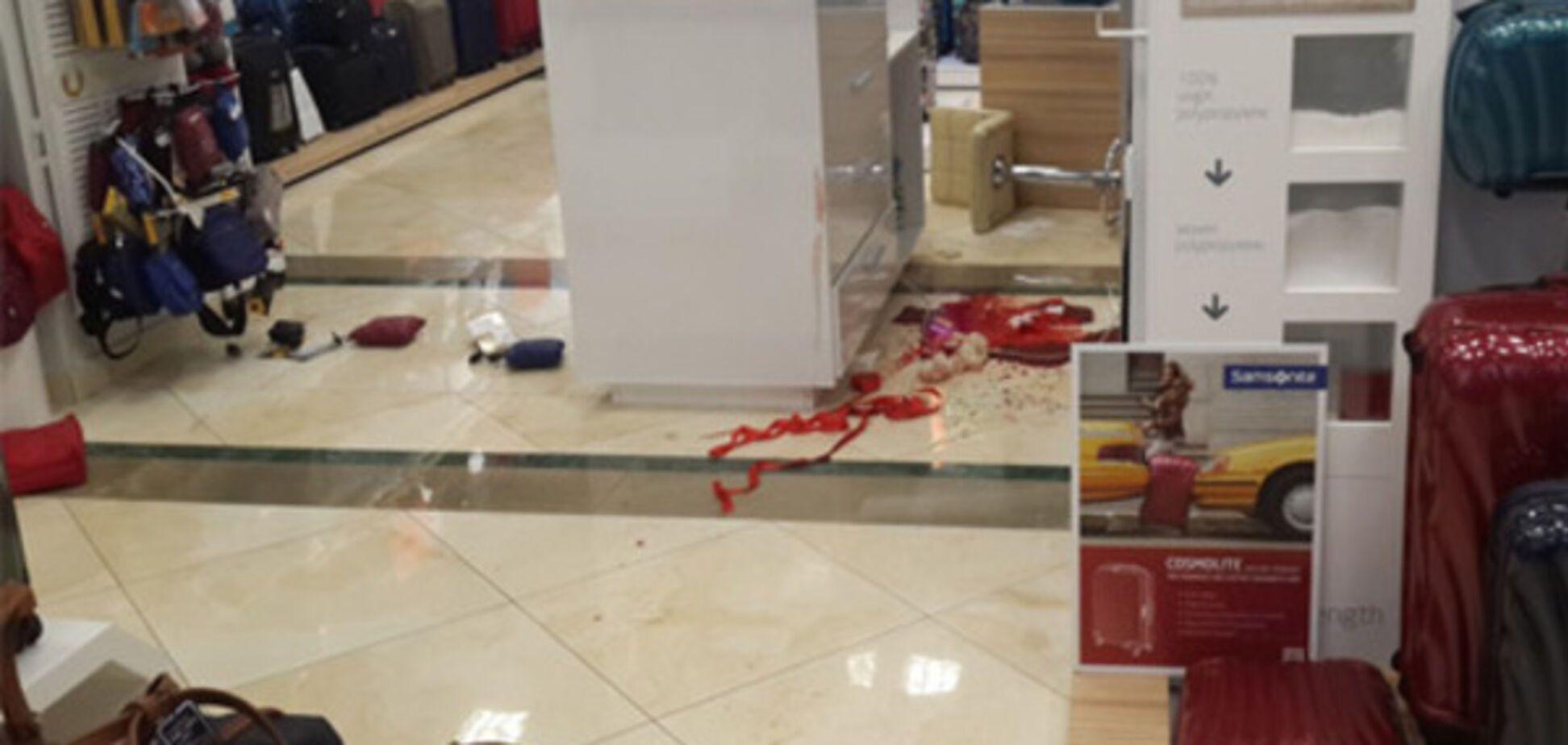 Нападение в торговом центре