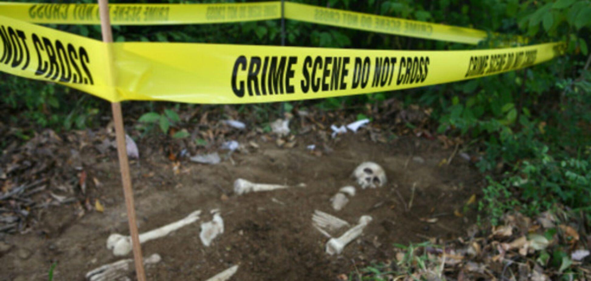 Нашли скелет