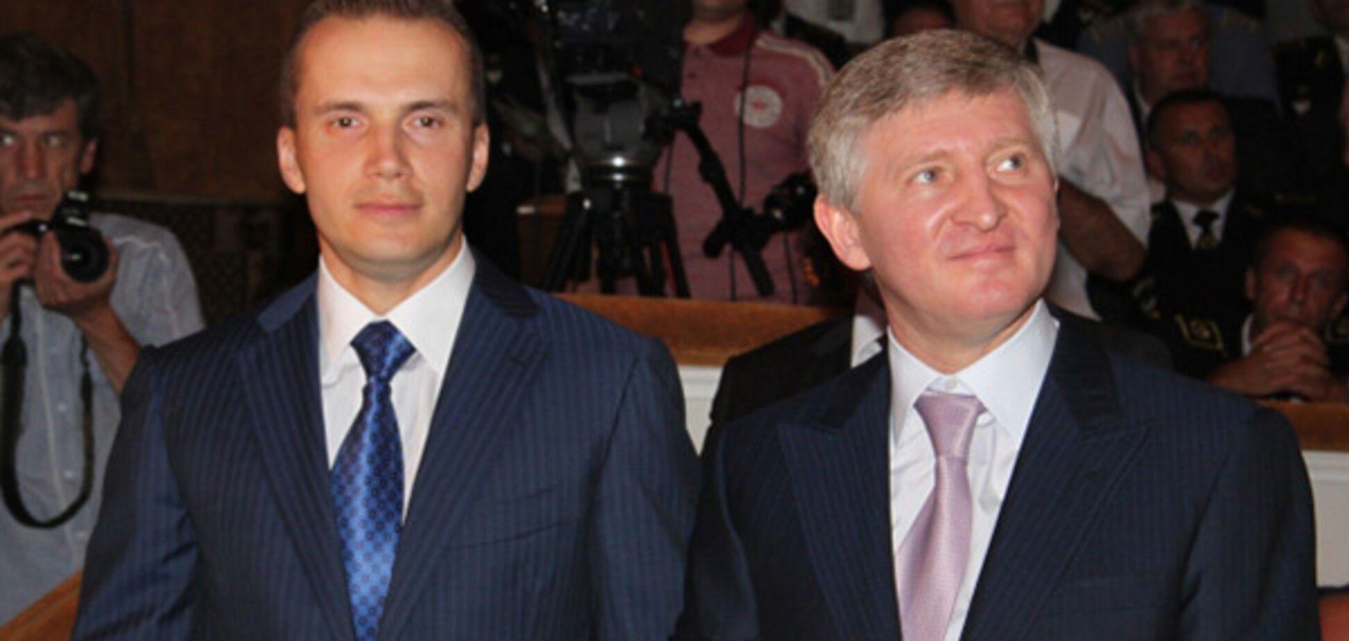 Александр Янукович и Ринат Ахметов