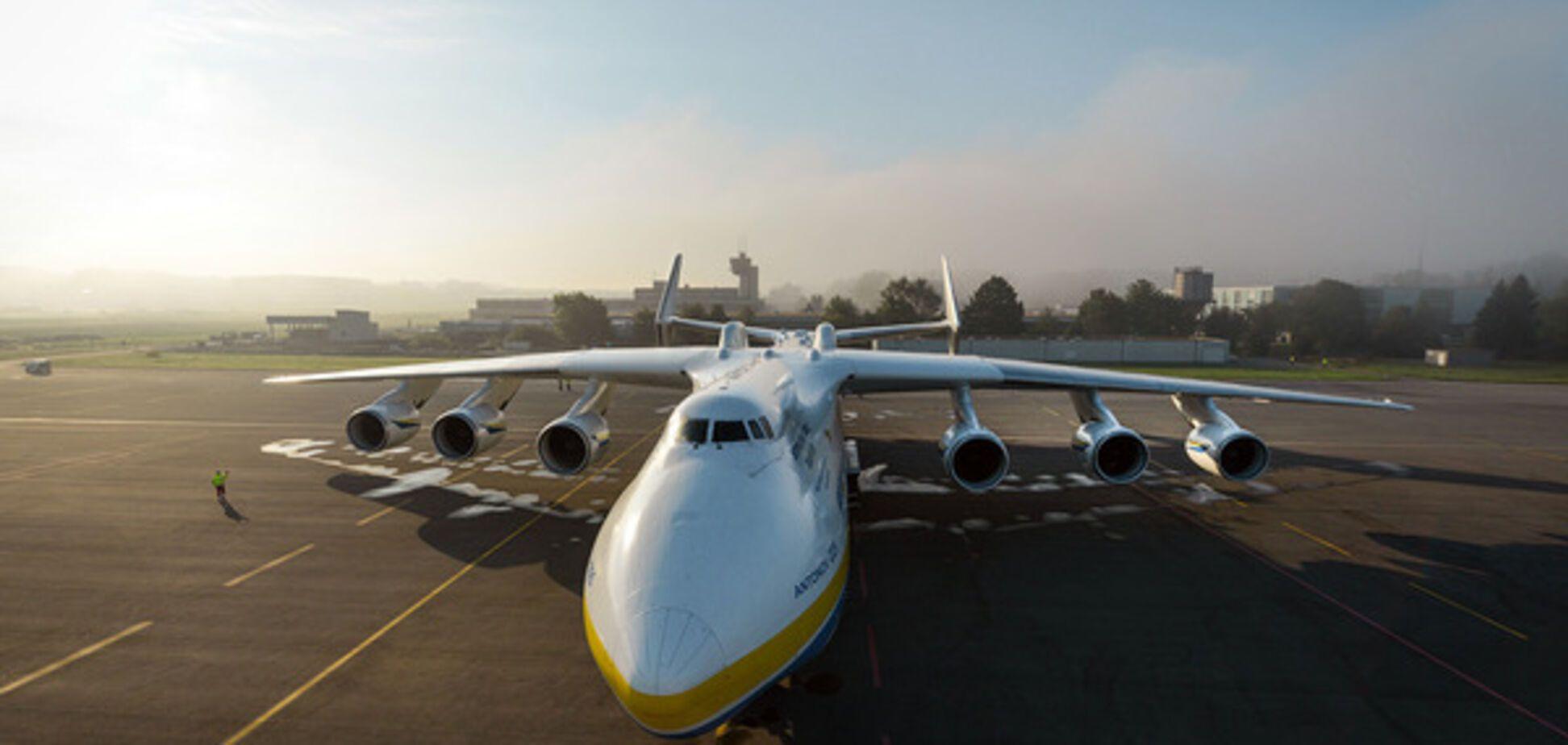 109 рекордов 'Мрии': самые яркие фото и видео с украинским самолетом
