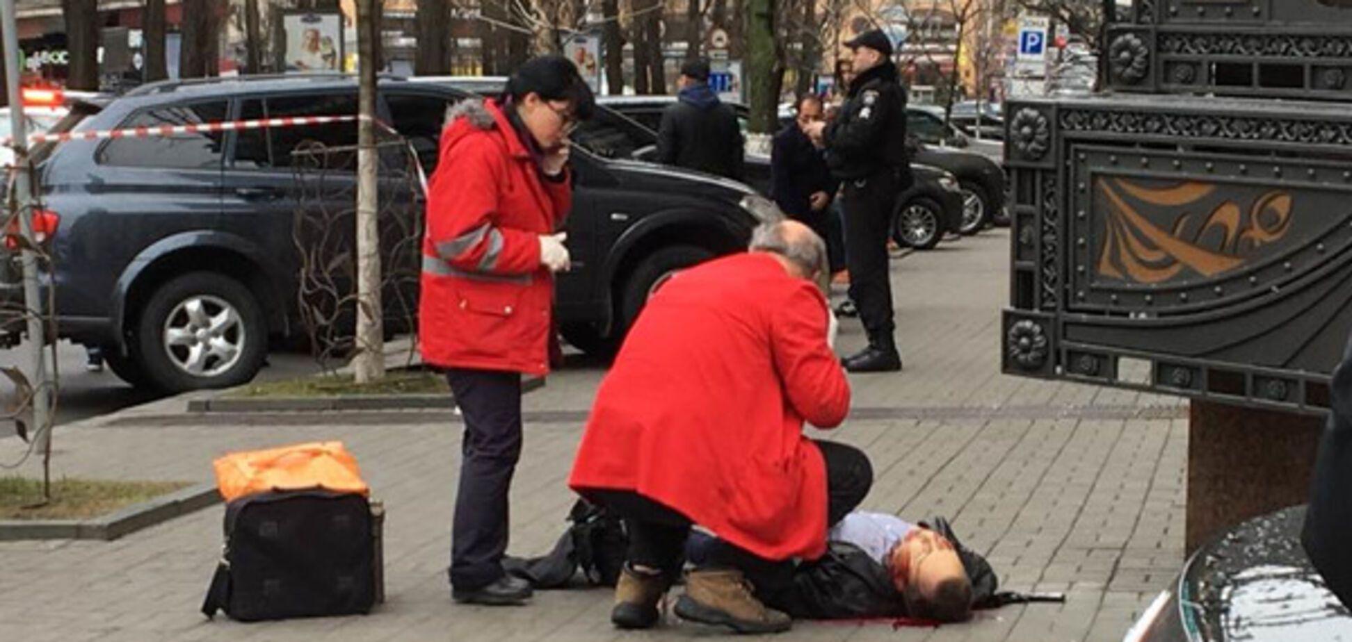 В центре Киева расстреляли Вороненкова: все подробности, фото, видео