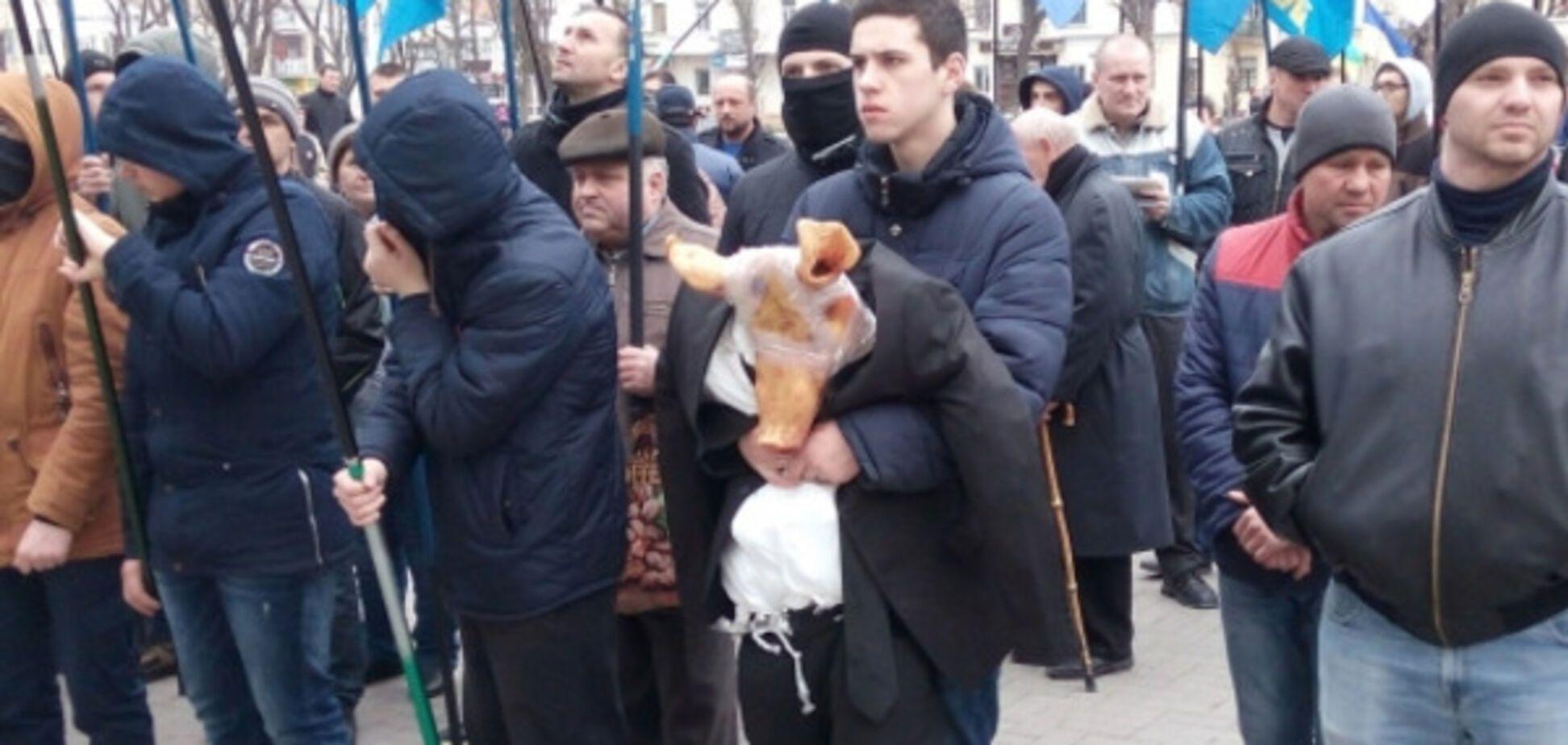 Митинг в Хмельницком
