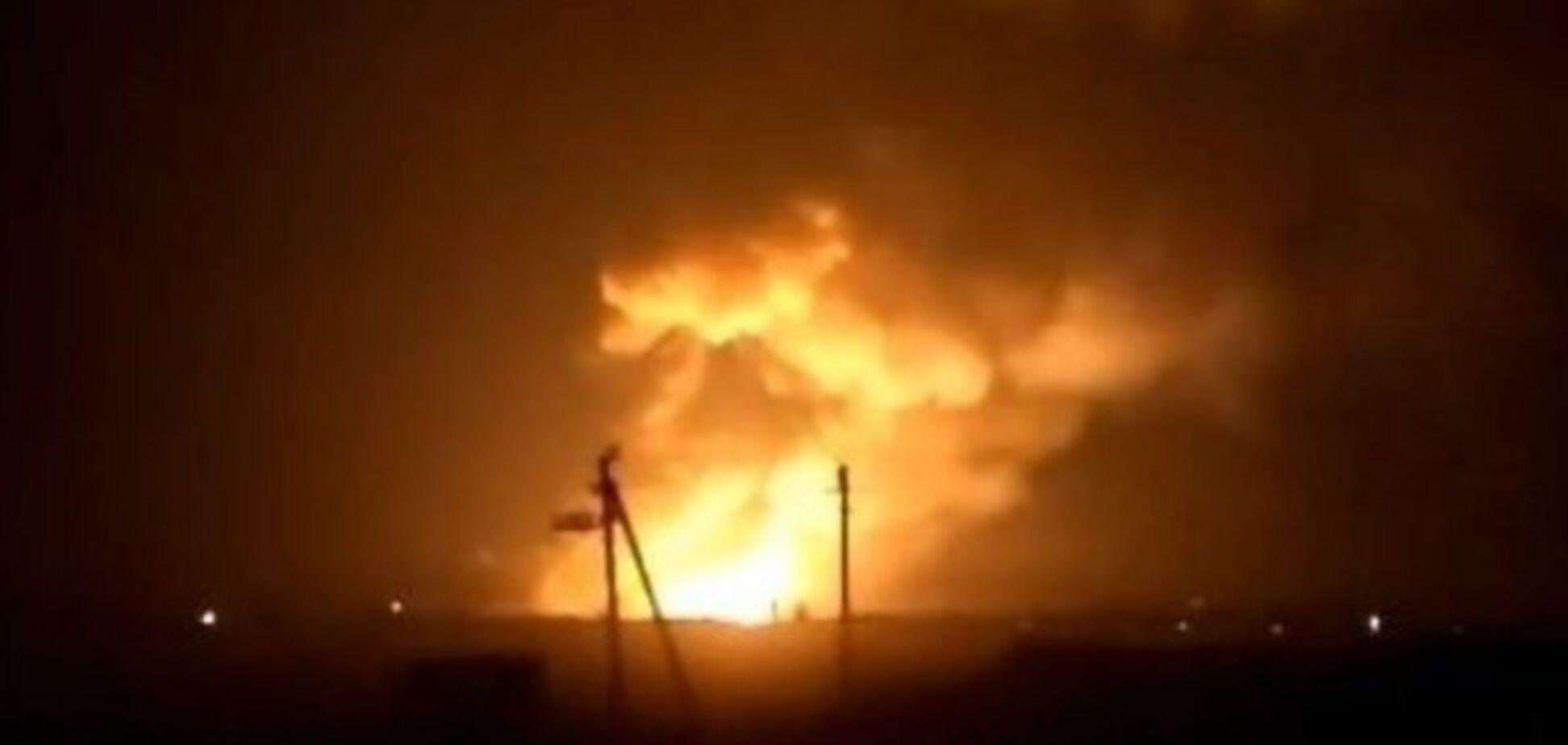 Взрыв в Балаклее