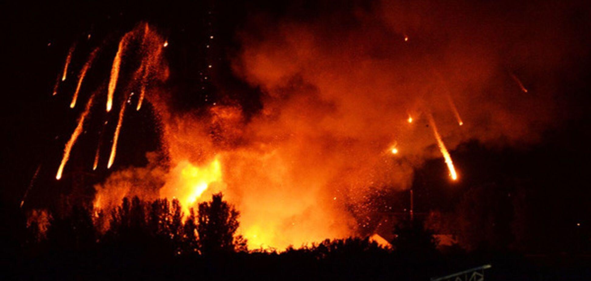 Взрыв в Сватово