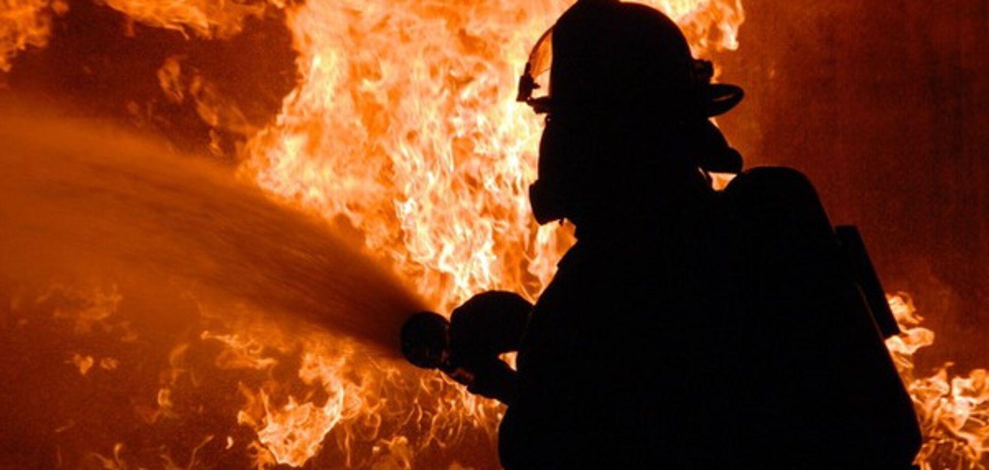 В области три часа тушили масштабный пожар