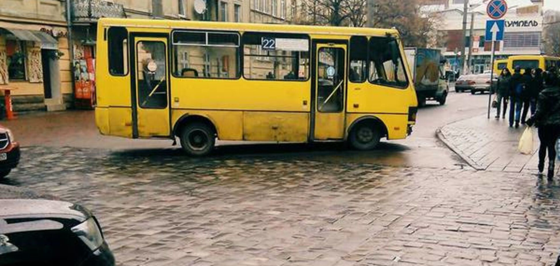 Маршрутка у Львові