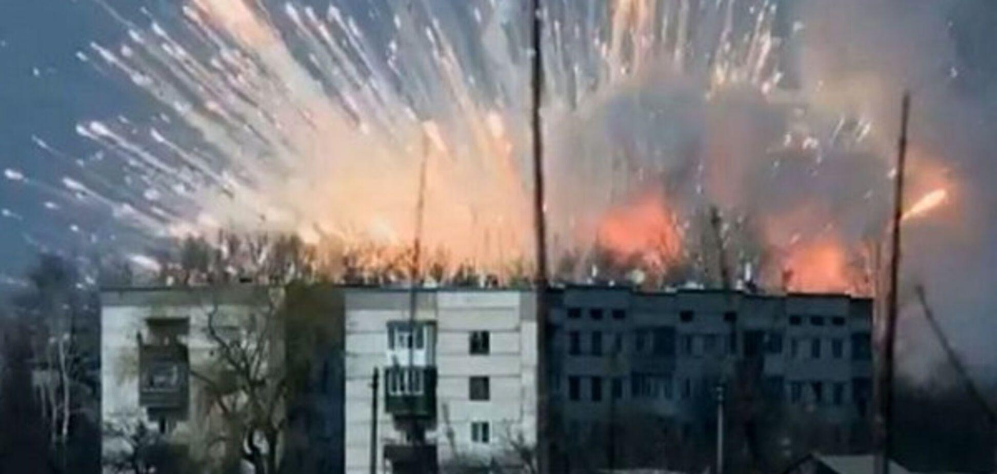 Пожар  в Балаклее