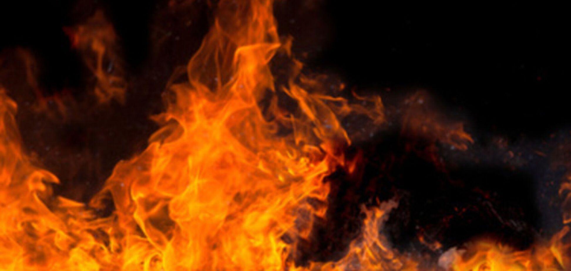 В Запорожской области мужчина едва не сгорел в подвале