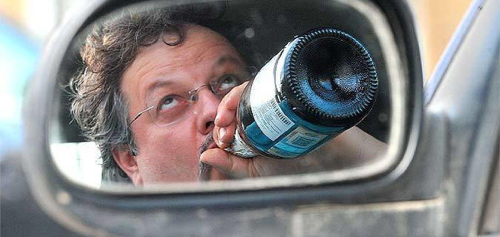 Роял-флеш по-запорожски: на пьяного водителя составили сразу пять протоколов