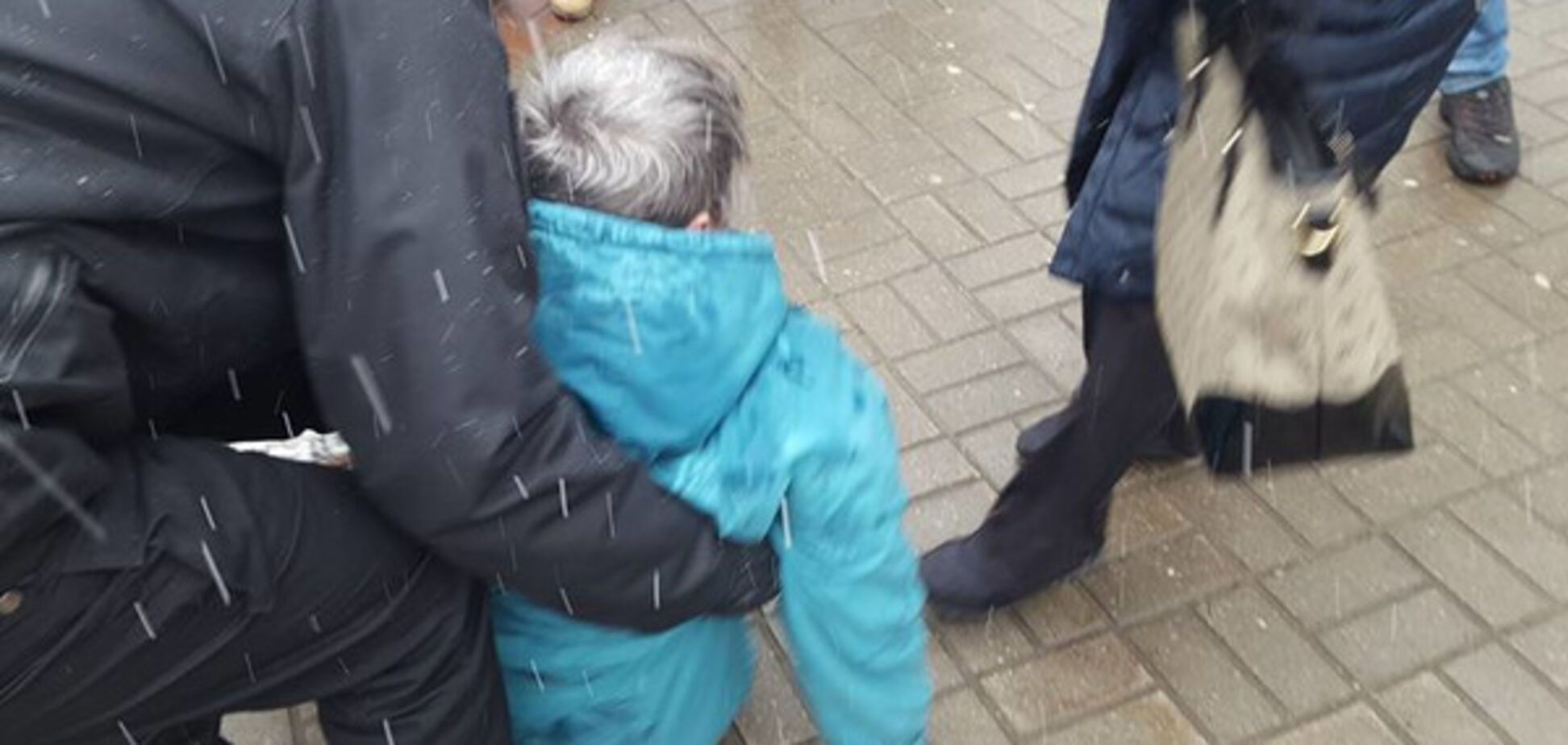 Пенсионерка в Минске