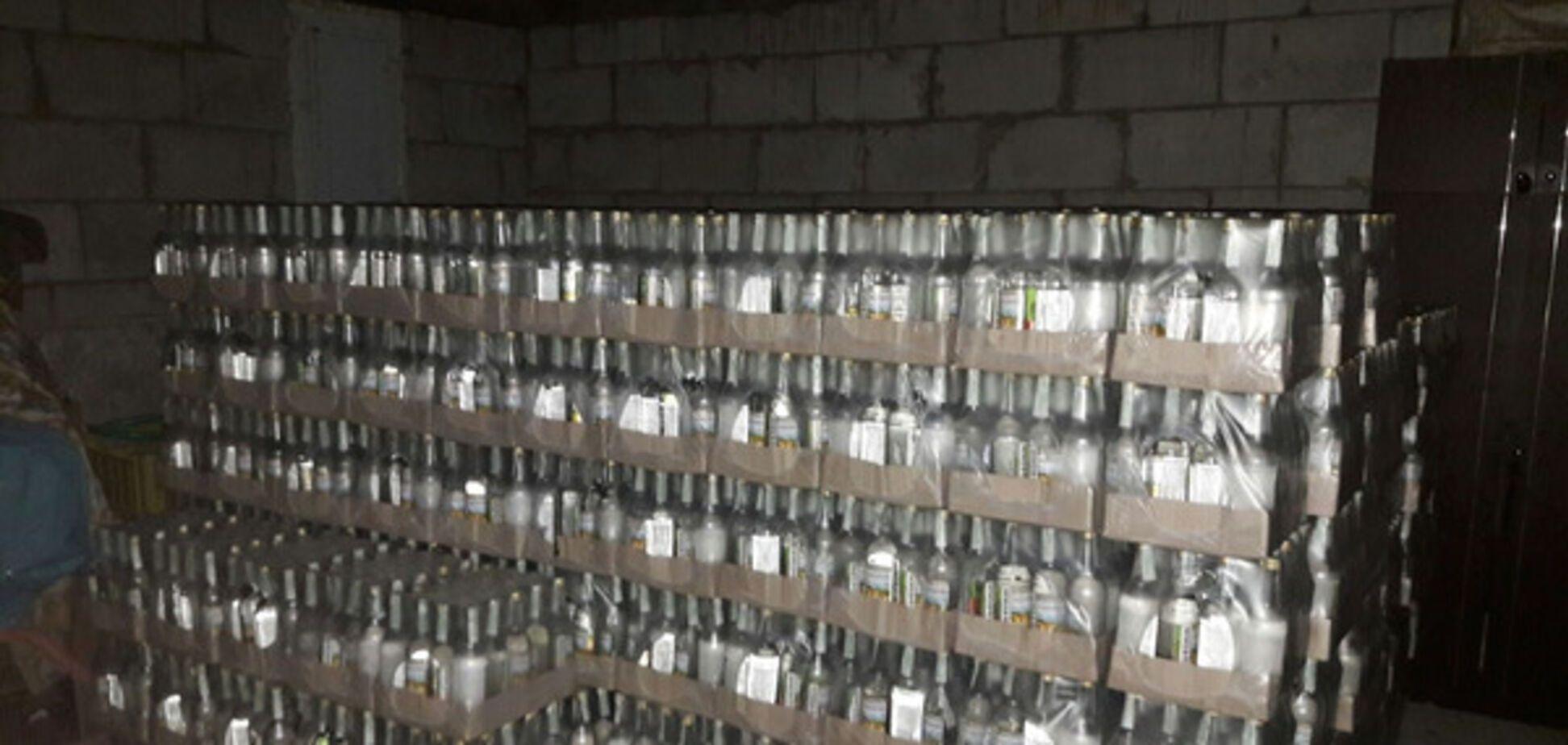 Производство поддельной водки