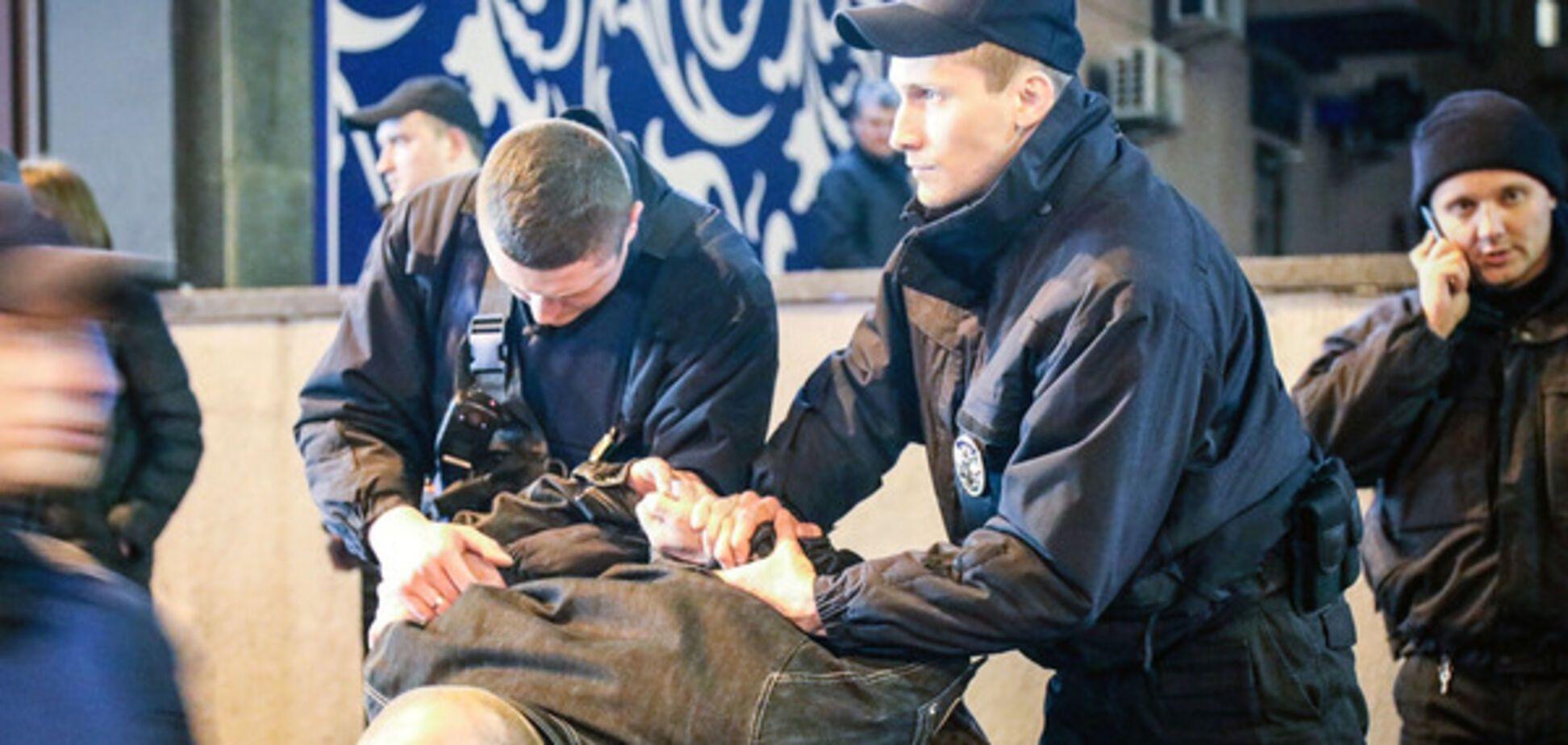 Стрельба в центре Киева 25 марта