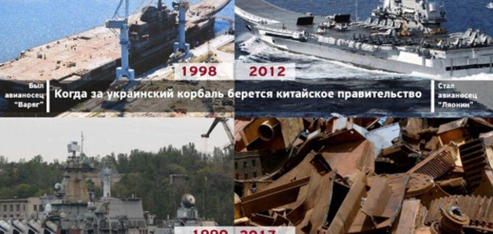 Добудувати 'Україну': Коновалюк запропонував відмовитися від списування крейсера на металобрухт
