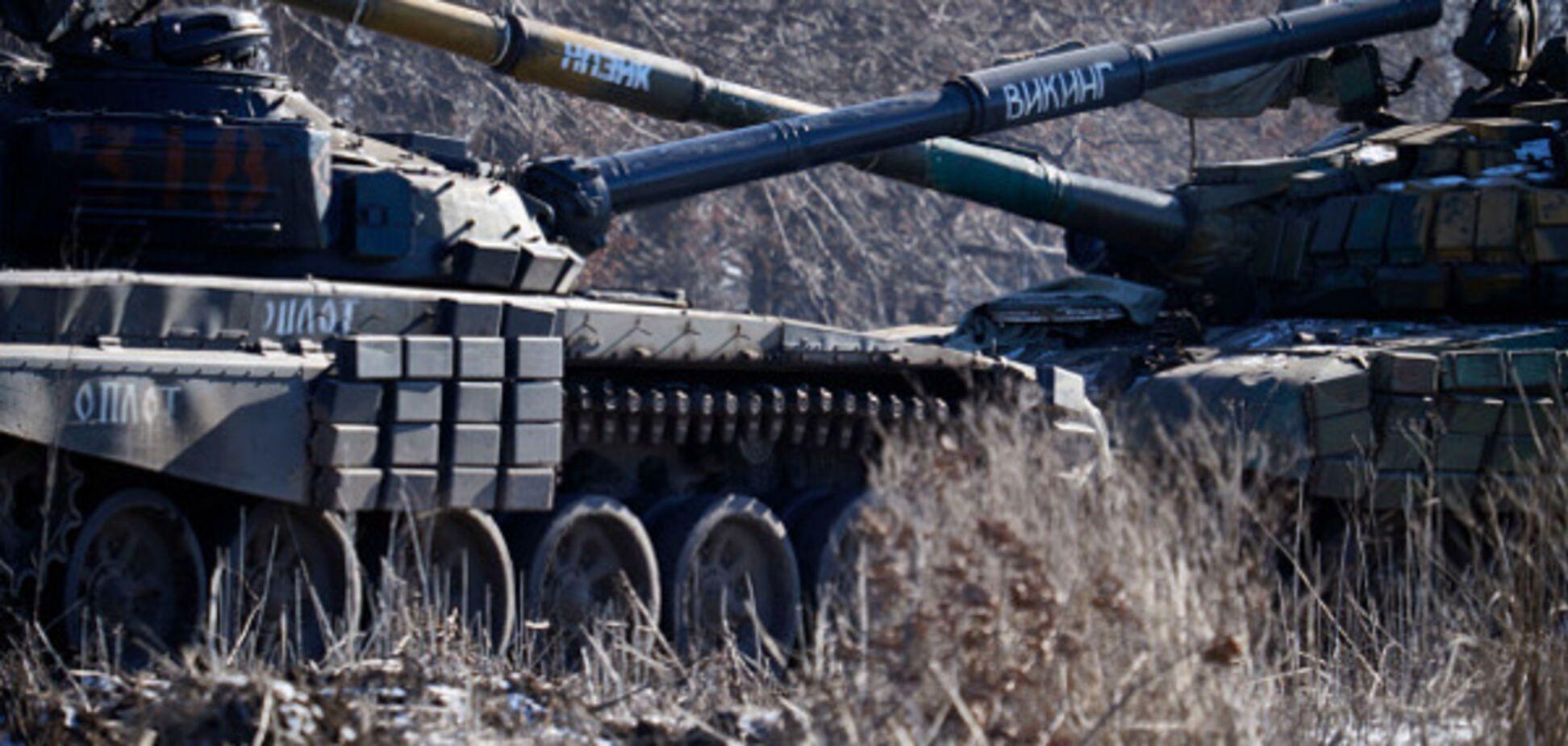 танки Донбас
