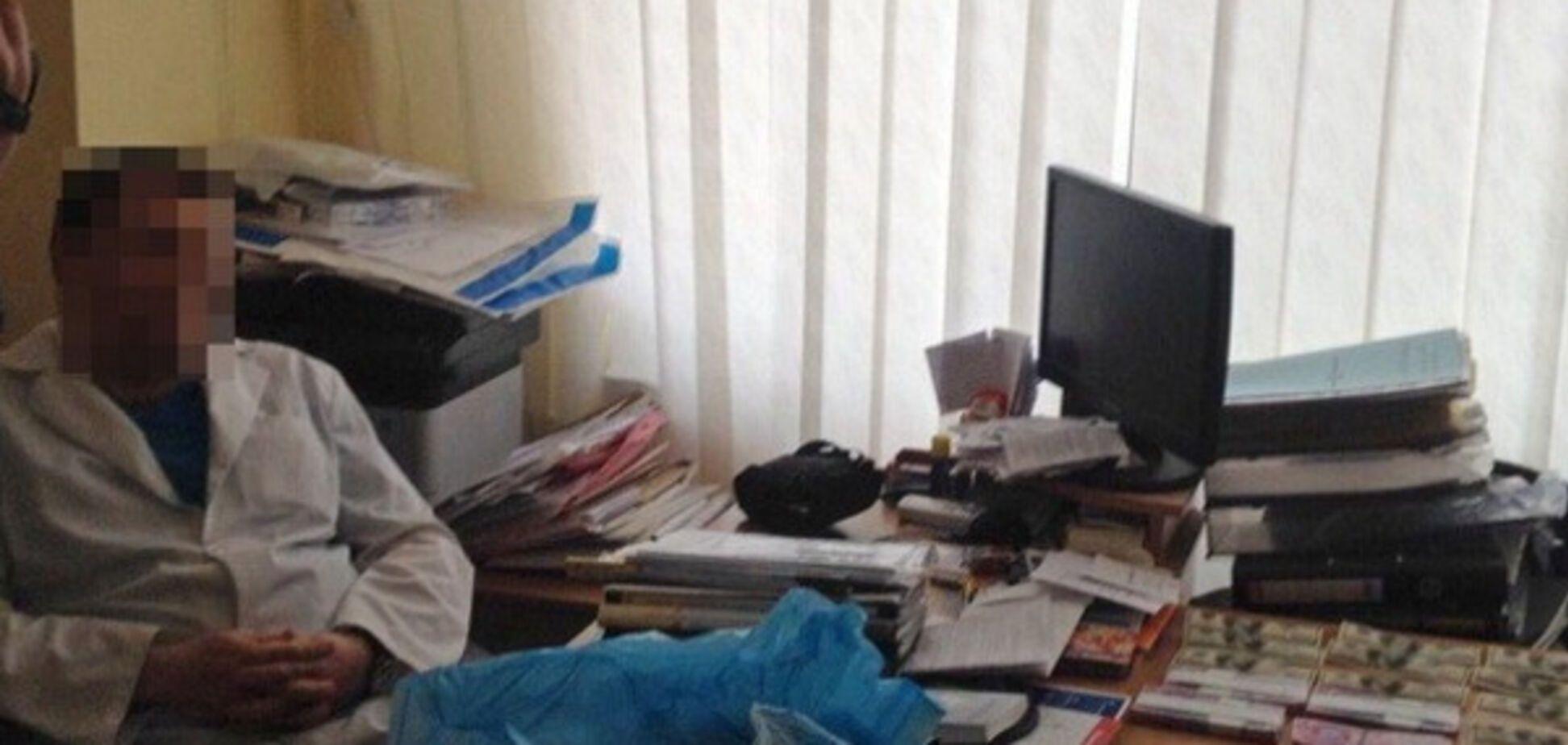 Задержание харьковского врача