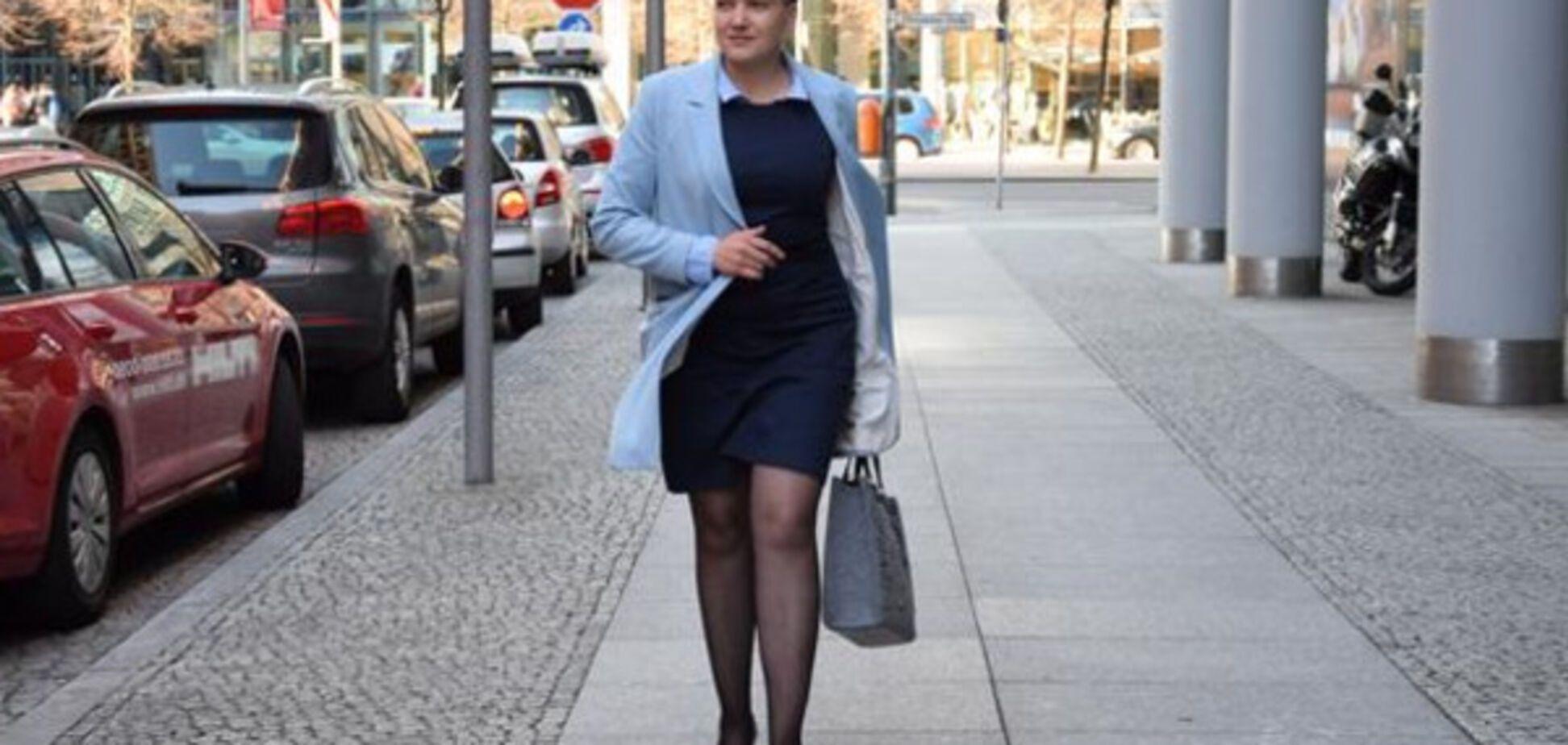 Надія Савченко здивувала Берлін