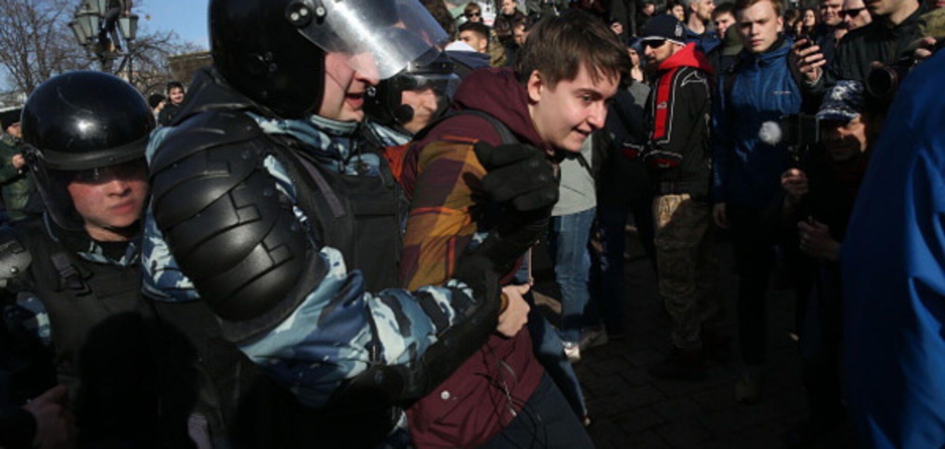 протест в москві 26 березня