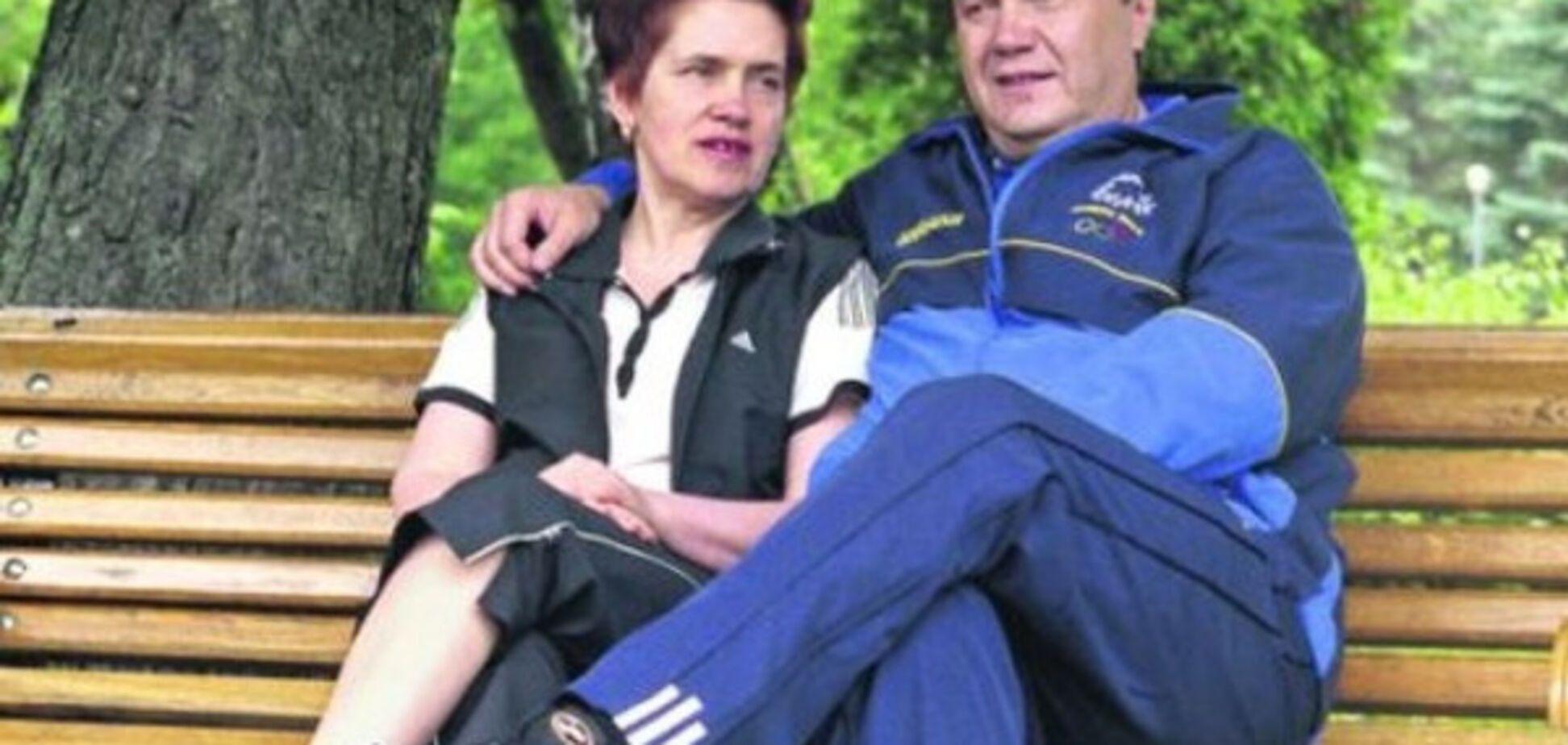 Виктор и Людмила Януковичи