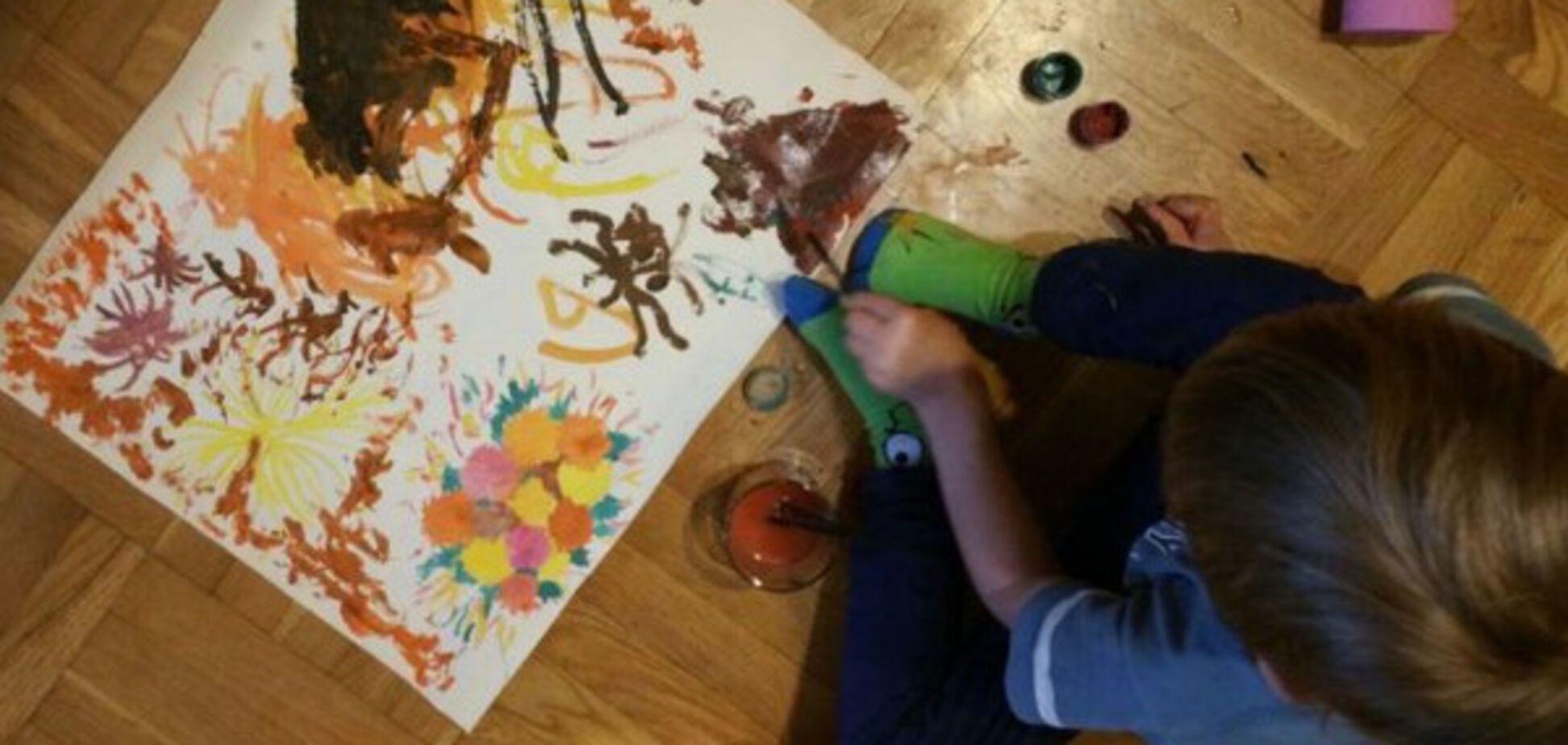 ребенок, рисунок