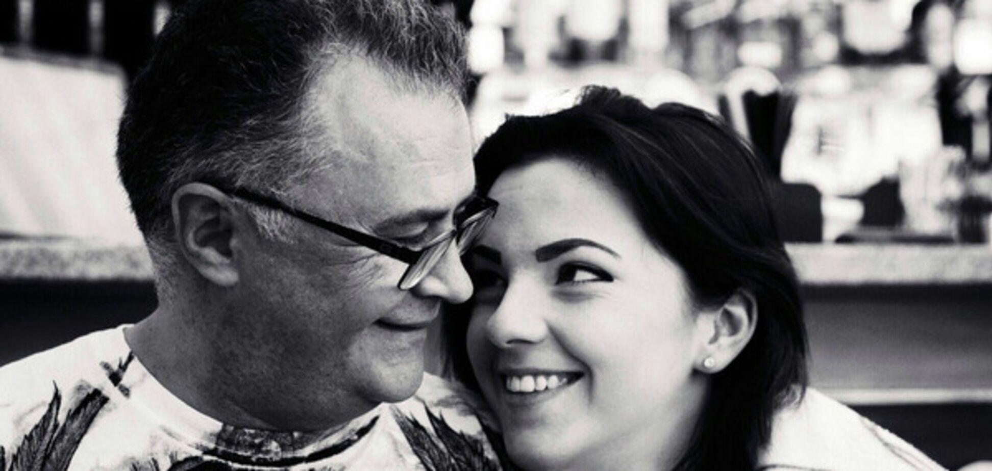 Юрий Фалеса с женой