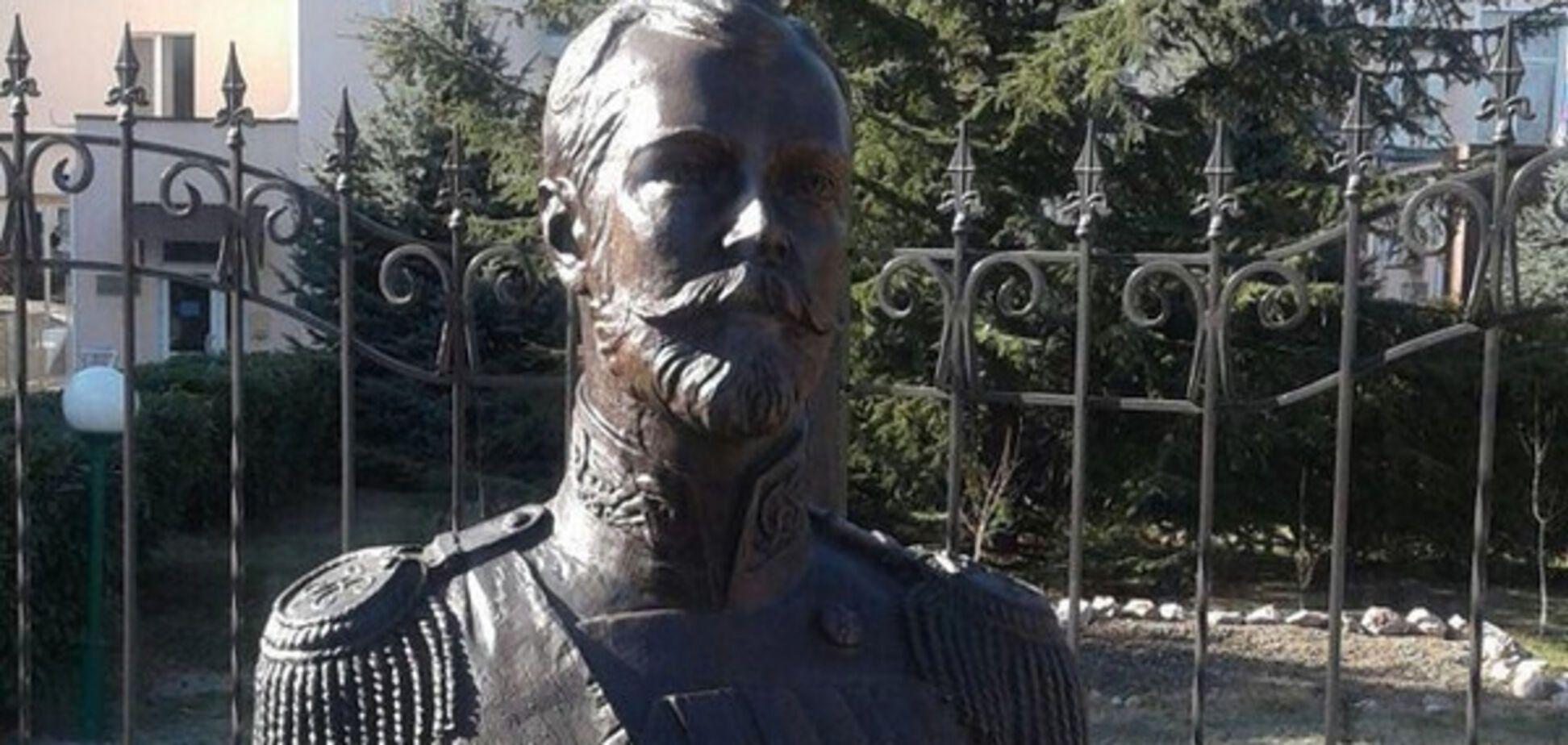 Бюст Миколи II