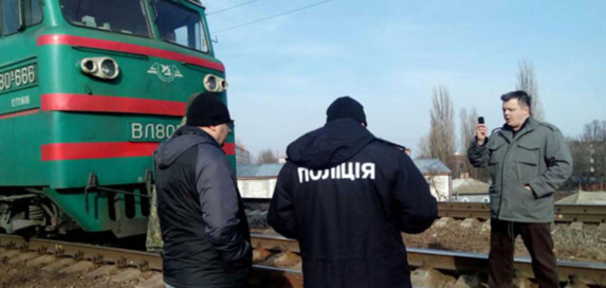 Блокада российских поездов