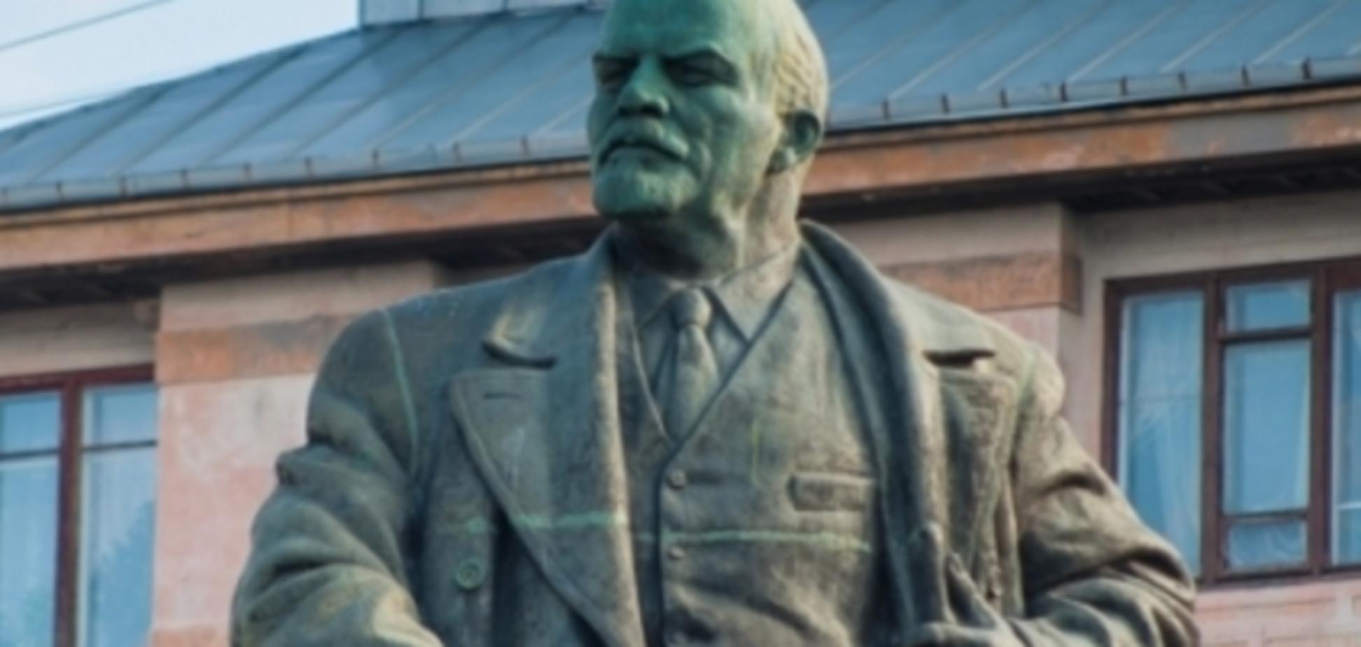 Пам\u0027ятник Леніну