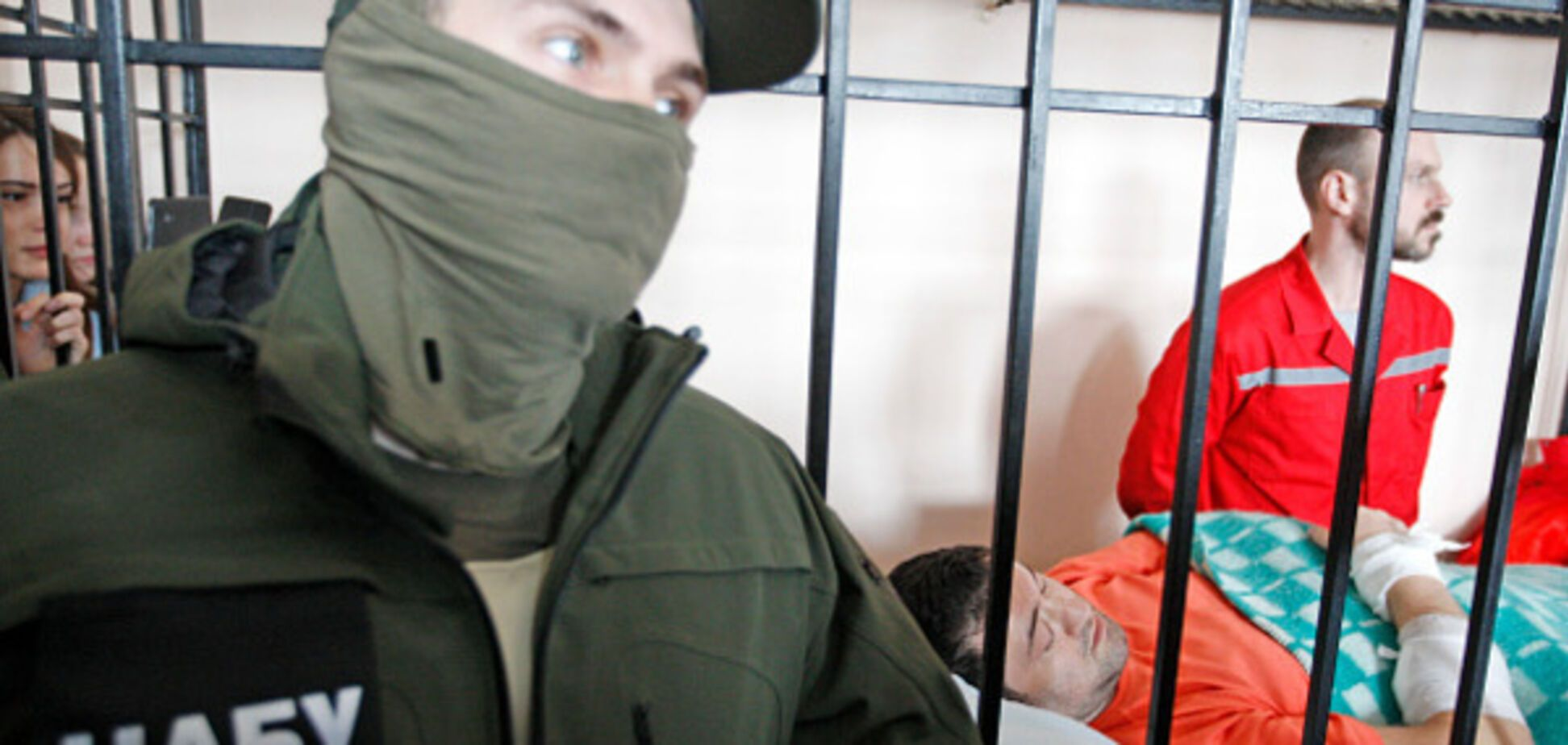 Роман Насиров в суде