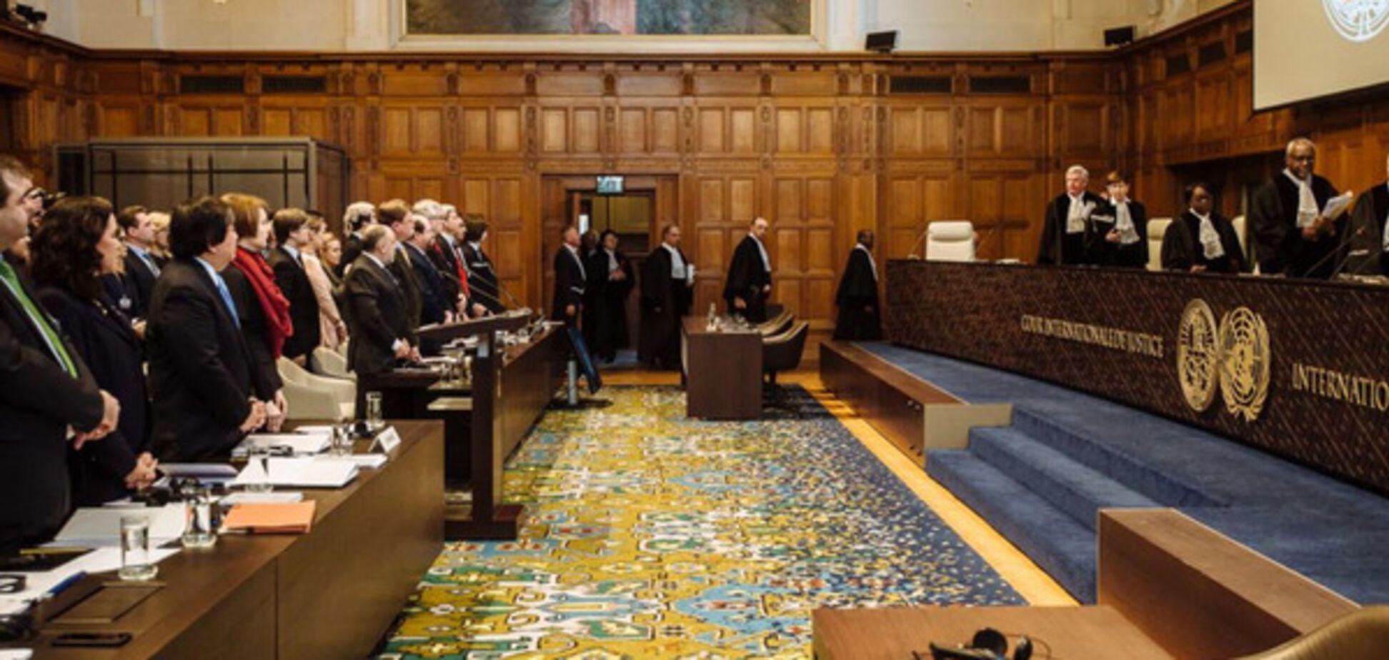 Украина Россия суд в Гааге
