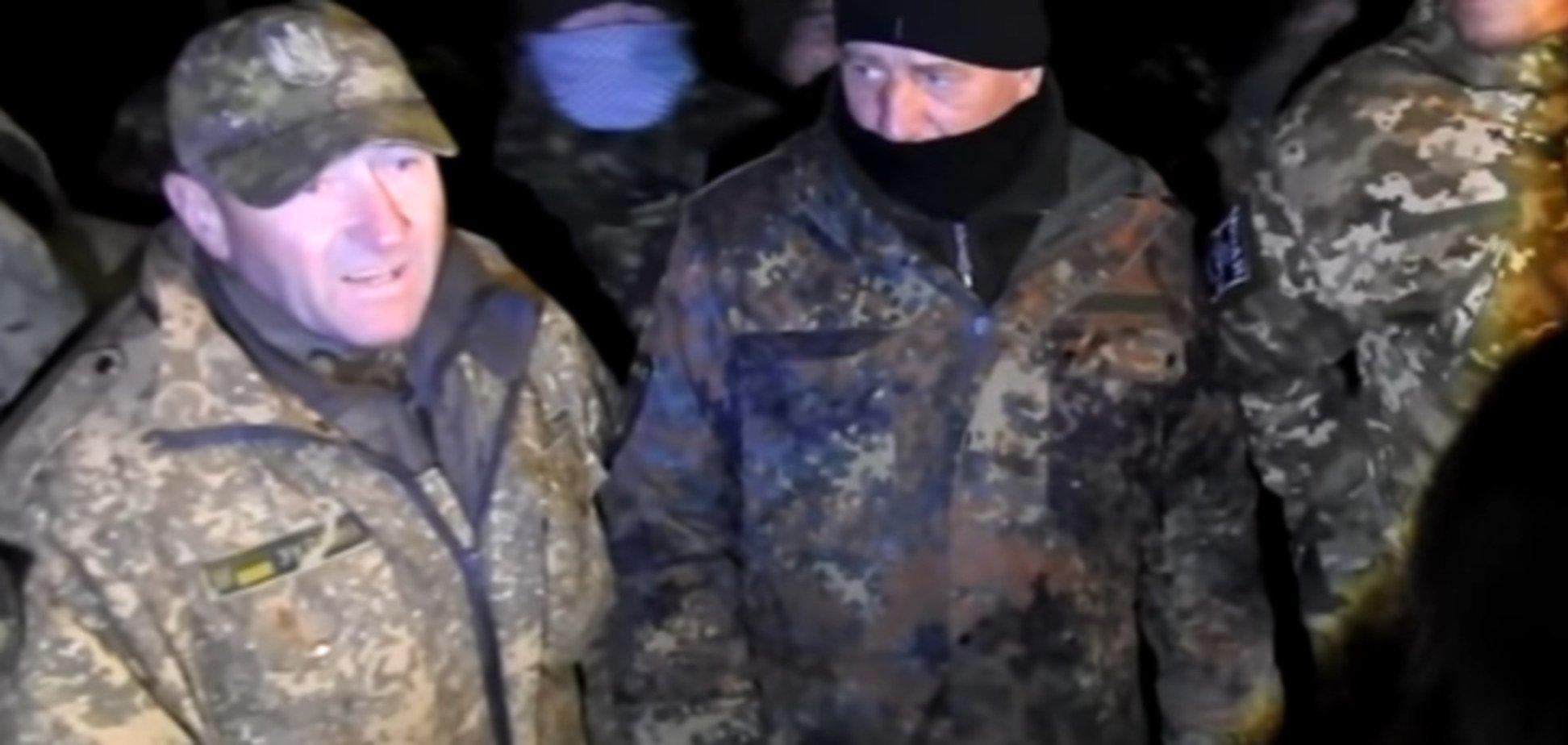 'Настоящая титушня': появилось новое видео конфликта Чорновол и блокадников
