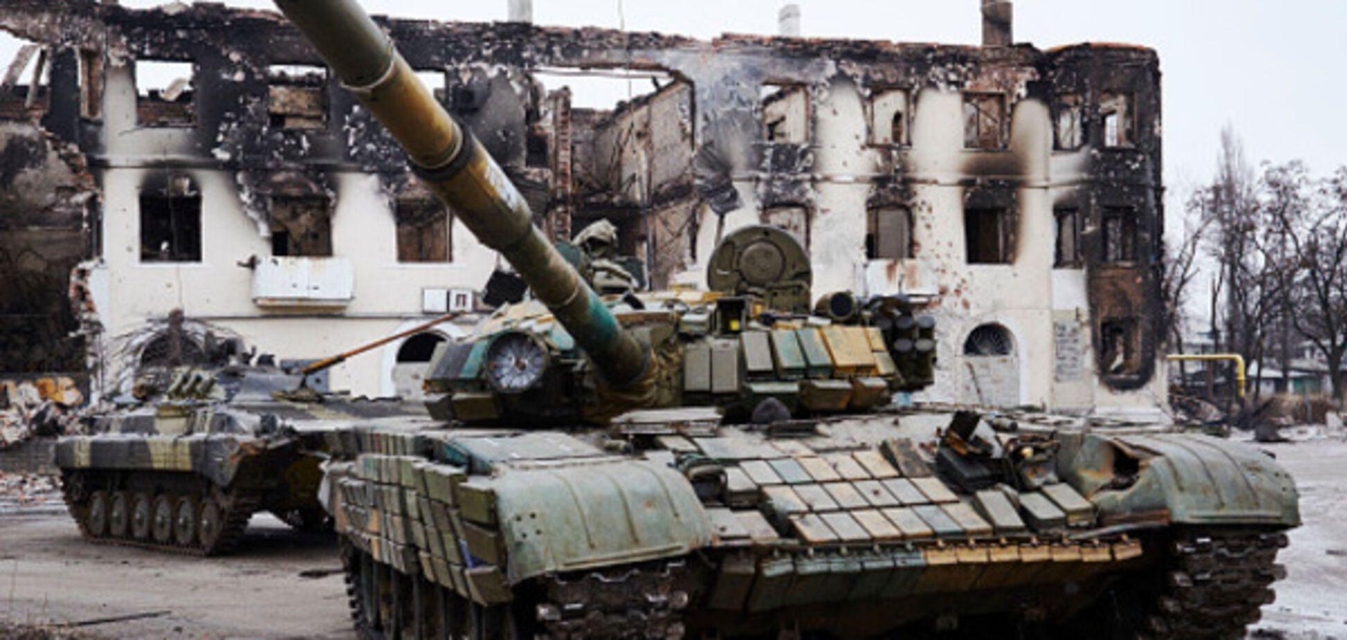 Донбас війна танк