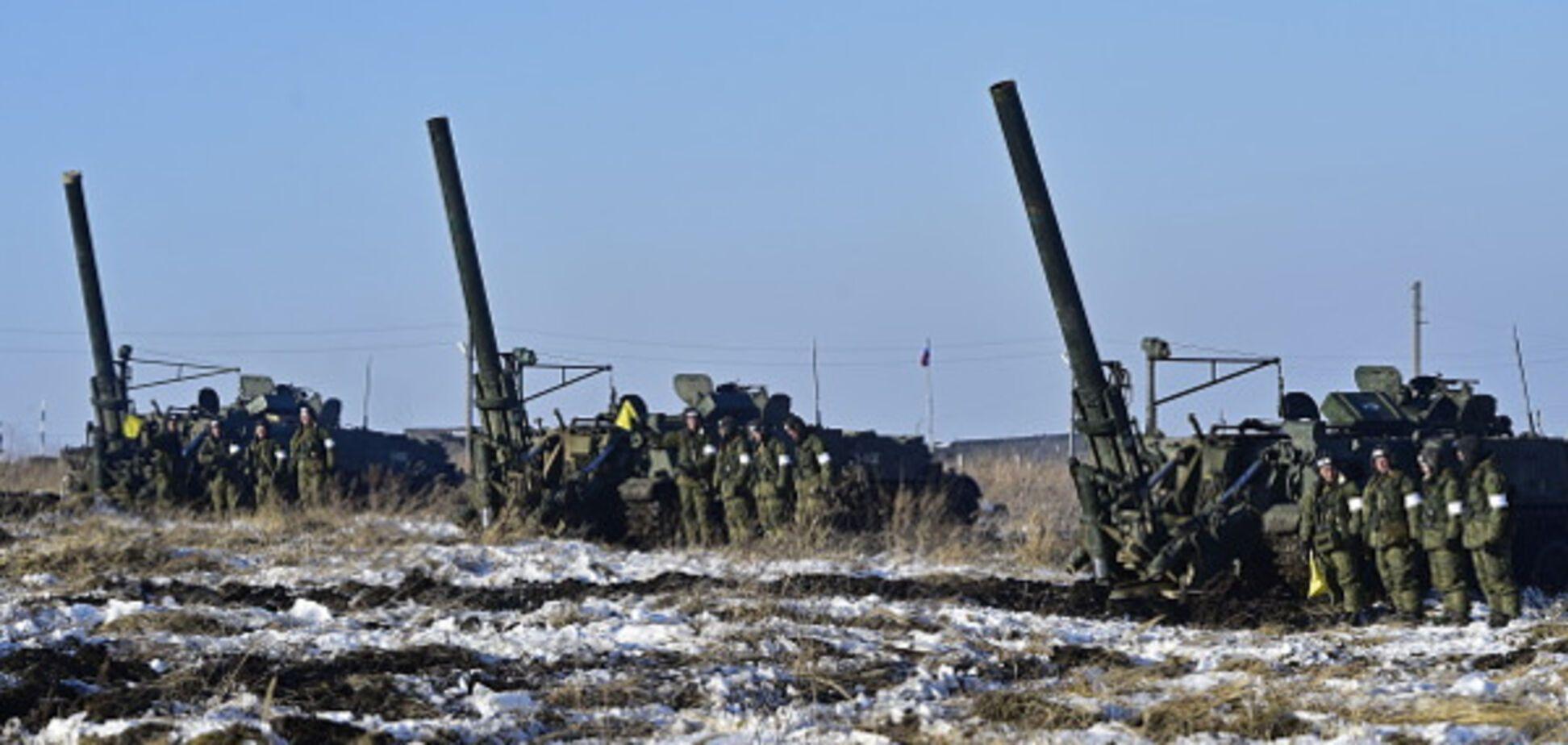 Российские войска на границе с Украиной