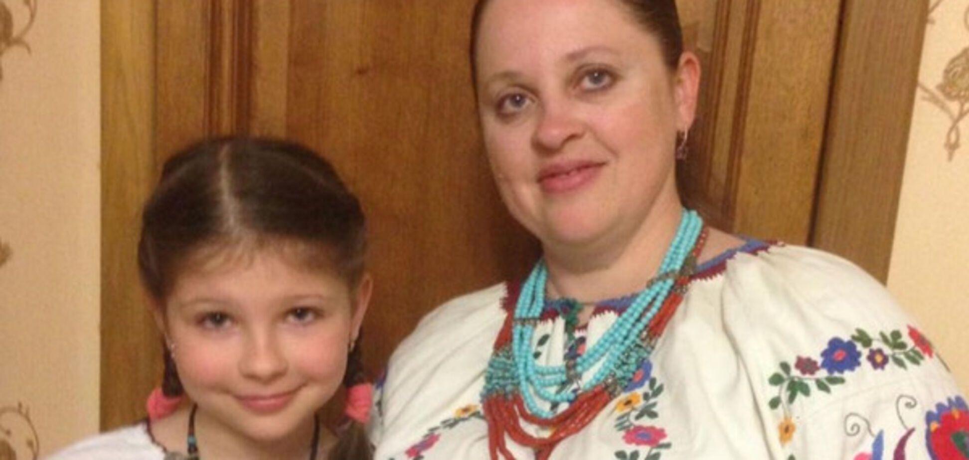 Татьяна Попова с дочерью