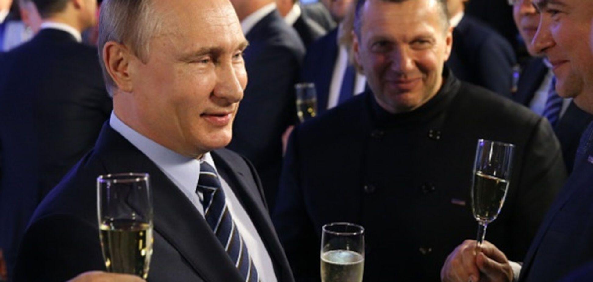 Владимир Путин и Владимир Соловьев
