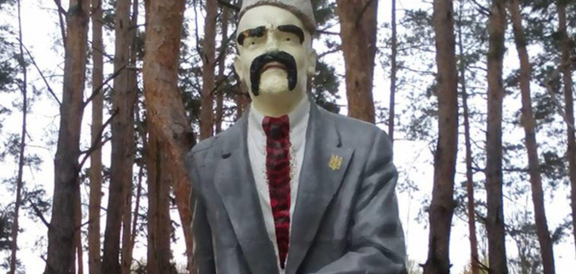 Памятник Ленину Шевченко