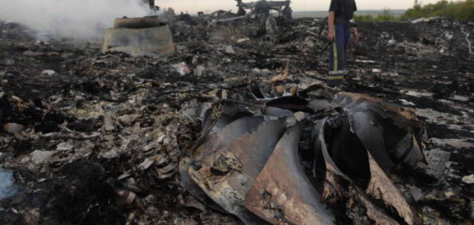 Крушение Boeing-777