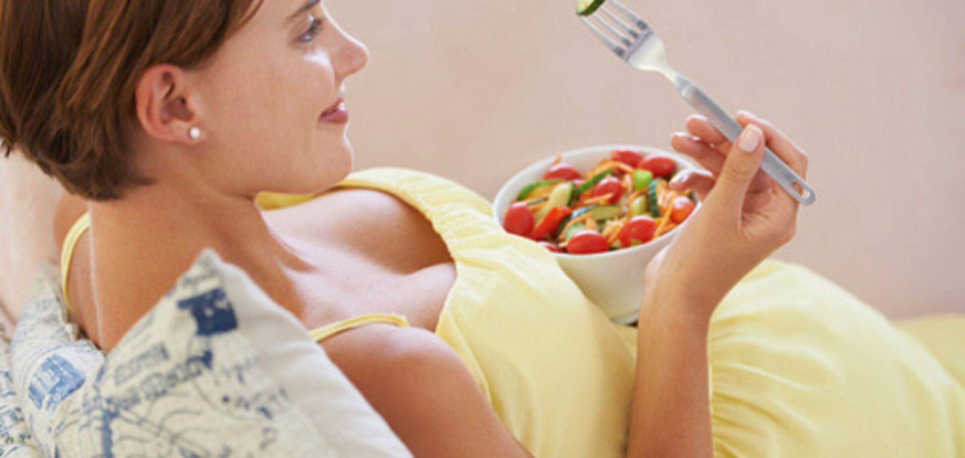 Фрукты и овощи во время беременности могут быть опасны для здоровья малыша