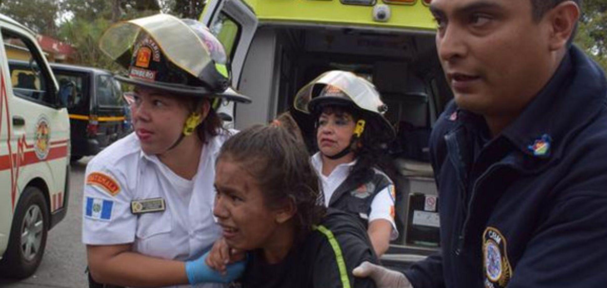 Пожежа в Гватемалі