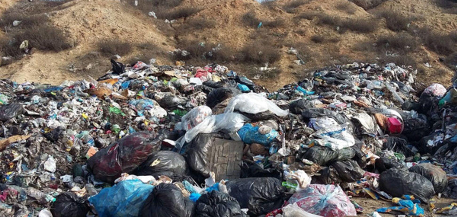 Завали сміття на Одещині