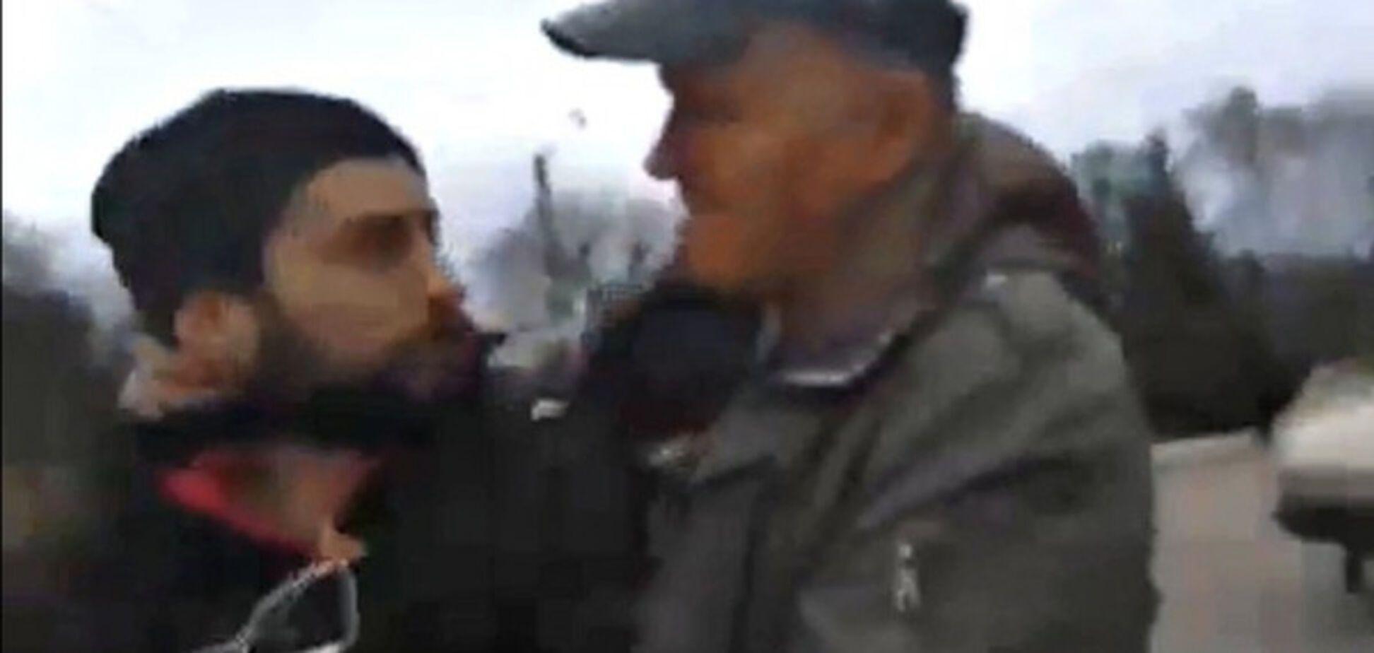 Нападение на съемочную группу под Харьковом